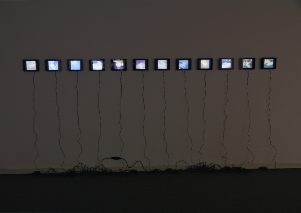 Faces In The Sky (Installation View), 2011. Courtesy: Placentia Arte.