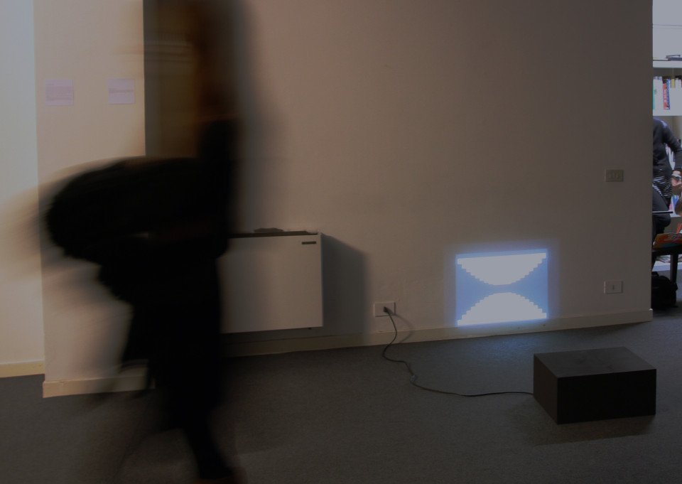 "You Tube Time, installation view in ""Loading..."", 2011. Courtesy: Placentia Arte."